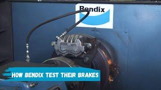 Brake testing on the dyno