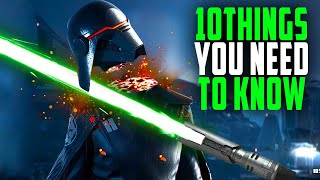 Star Wars Jedi: Fallen Order 10 THINGS YOU NEED to KNOW Before Your BUY!