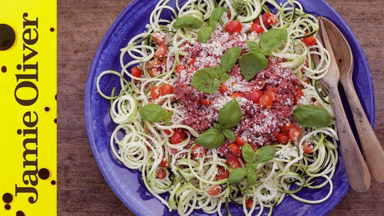 Raw vegan spaghetti bolognese amber locke jamie oliver forumfinder Gallery