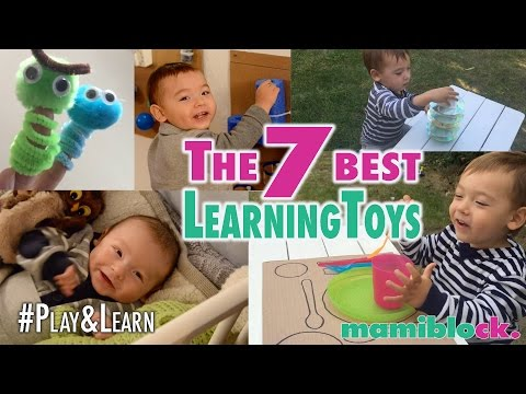 Die 7 besten Lernspielzeuge | DIY | Play & Learn | mamiblock
