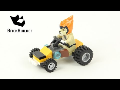 Vidéo LEGO Chima 30253 : Leonidas' Jungle Dragster (Polybag)