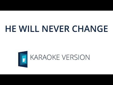 He Will Never Change – 2020 Youth Album feat. Claire Quigley – Karaoke Version