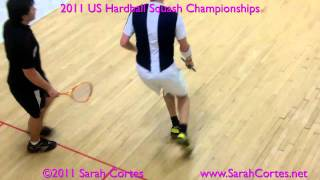 2011 US Hardball Squash Quarterfinal- Zaman Khan V Roberts Video