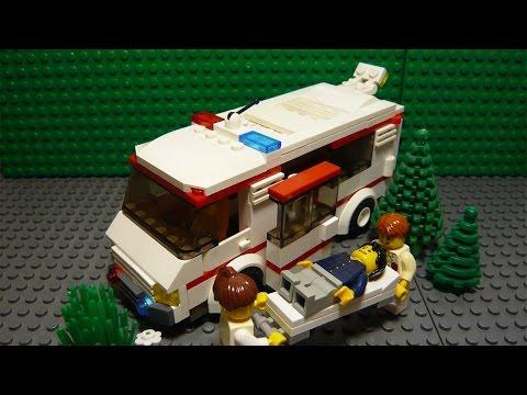 LEGO САМОДЕЛКА #28 | Скорая помощь / Ambulance