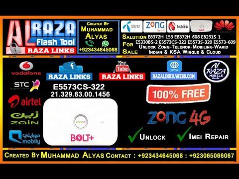 Zong Bolt E5573cs 322 Unlock Done 100