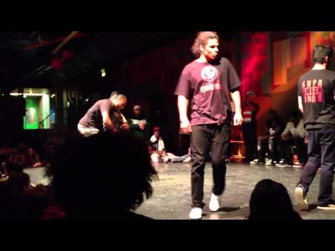 OG & Alberto (AfreeHouse) vs. Fetta & Louis (SupaSmash/K.Mifa) FunkyFreshJam 2013 House Battle