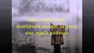 UNIC - Lafaz Yang Tersimpan (Lirik)