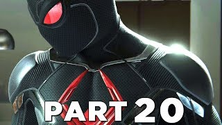 SPIDER-MAN PS4 Walkthrough Gameplay Part 20 - BLACK CAT DARK SUIT (Marvel