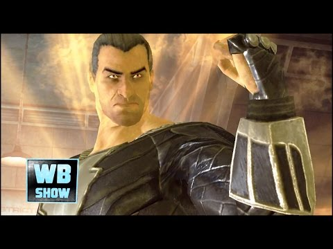 Injustice: Gods Among Us - KAHNDAQ BLACK ADAM Attacks & Battle