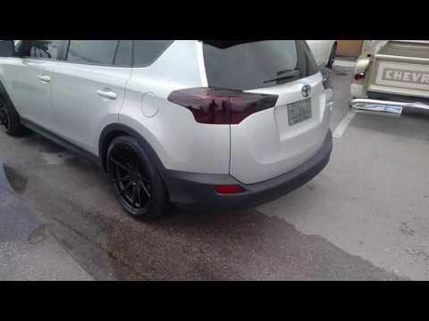 877-544-8473 20 Inch Rohana RF2 Black Wheels 20x10 2015 Toyota Rav 4 Rims Free Shipping