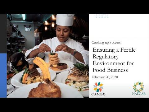 , title : 'Webinar Series, Cooking Up Success (3): Ensuring a Fertile Regulatory Environment for Food Business