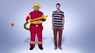 Папа-пожарник - сериал Папаньки - смотрите премьеру в сентябре на ICTV