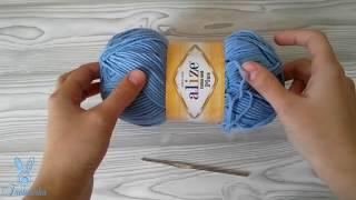 Как научиться вязать крючком| Уроки вязания крючком для начинающих |Воздушная петля |Вязание крючком