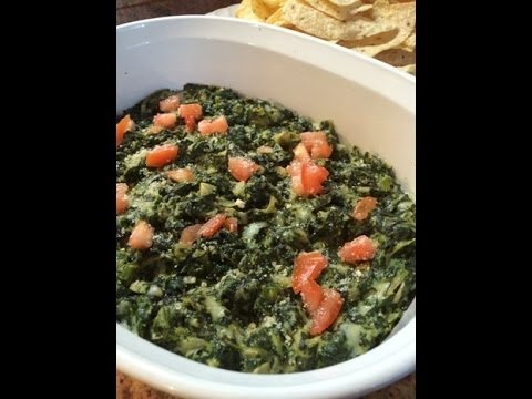 Holiday Series: #2 Spinach & Artichoke Dip Appetizer (Cooking with Carolyn)