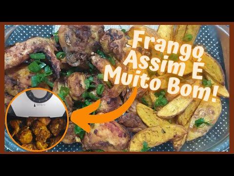 Frango Com Batata Na AirFryer Receita De Frango Frito Na Air Fryer