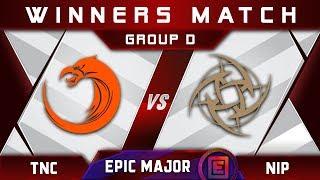TNC vs NiP [EPIC] Winners D EPICENTER Major 2019 Highlights Dota 2