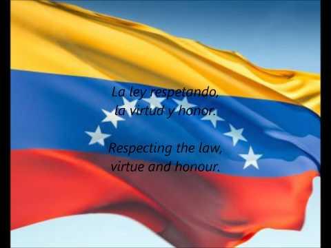 "Venezuelan National Anthem - ""Gloria Al Bravo Pueblo"" (ES/EN)"