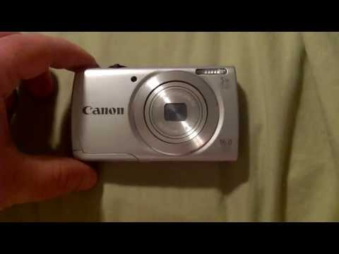 Canon Powershot A2500 Introduction