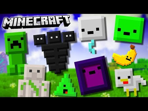 NEW MINECRAFT INVENTORY PETS!! (Inventory Pets Mod)