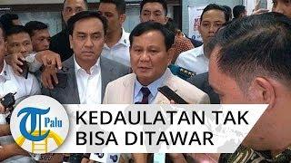 Rapat Kerja dengan Komisi DPR, Menhan Prabowo: Kedaulatan Indonesia Tak Bisa Ditawar