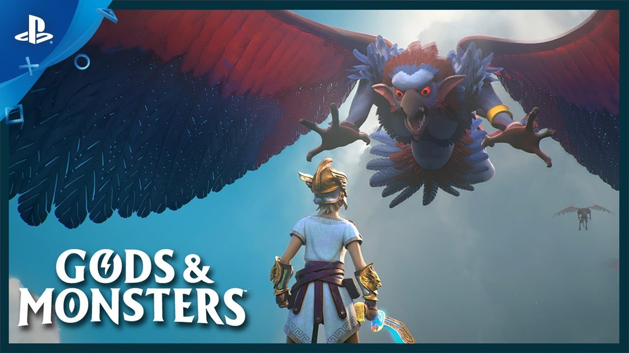 Save the Greek Pantheon in Gods & Monsters, Coming to PS4 February 25