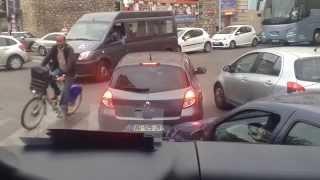 Taková malá dopravní zácpa v Marseille