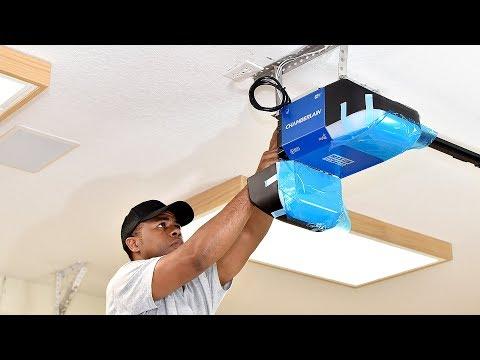 3 DIY Garage Door Upgrades   Adding insulation, Replacing Opener and Weather Strip (in one day)