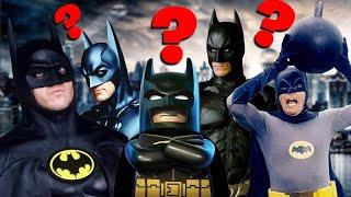 Knights VS Nipples: Who's the Best Batman? - Movie Podcast