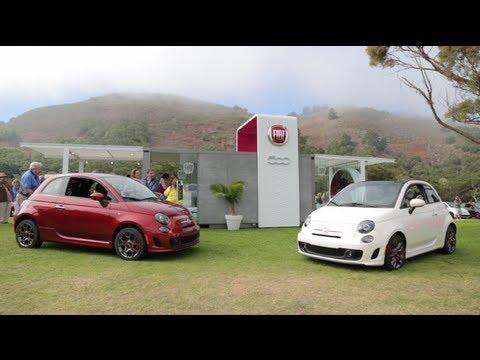 2014 Fiat 500 Cattiva/GQ - 2013 Pebble Beach Concours d'Elegance