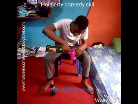 comedy video of @adeola_ylg song