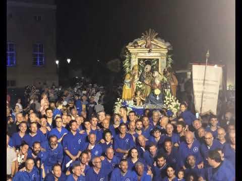 GRANDE PARTECIPAZIONE A LOANO LA PROCESSIONE DELLA MADONNA DELLA VISITAZIONE