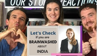 Are You Brainwashed About India   American REACTION!!