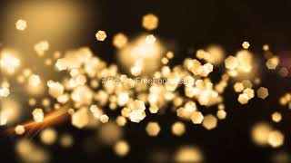 Golden particles background video loop | gold particles motion background | Golden particles overlay