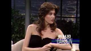 Diane Lane Talks About Her 18th Birthday On Johnny Carsons Tonight Show 1983