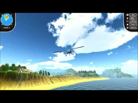 Видео № 0 из игры Island Flight Simulator [NSwitch]