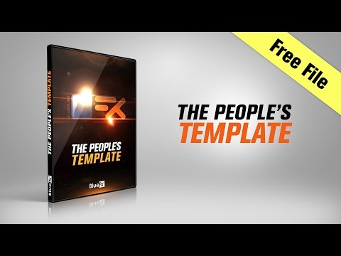 Free After Effects Templates | The Peoples Template | Free Download | After Effects Template