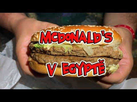 Exkluzivní burgery z EGYPTSKÉHO MCDONALD'S!