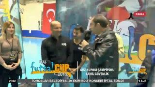 #Canlı İçelTV Futsal CUP Güz Kupası Final Karşılaşması Sahil Güvenlik - Mersin Amatör Futbol