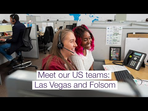 Image cover of video: Currently selected and queued to play. Take a quick tour and meet our teams in Folsom, California and Las Vegas, Nevada. Named an Achievers 50 Most Engaged Workplaces in North America, we deliver the best in both customer experience and digital innovation. Our U.S. teams serve the DX and CX needs of top global brands. Come visit - and see what an engaged and inspired culture can do for your customers.