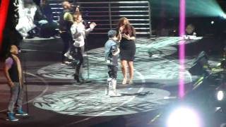 No Air - Jordin Sparks ft. Justin Bieber @ Jingle Ball NYC 12/11/09