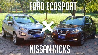 Comparativo: Ford Ecosport x Nissan Kicks