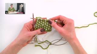 Knitting Help - Two Color Knitting Tricks