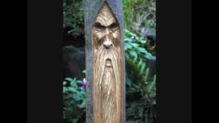 Wood Spirit Carving Tutorial 3wmv