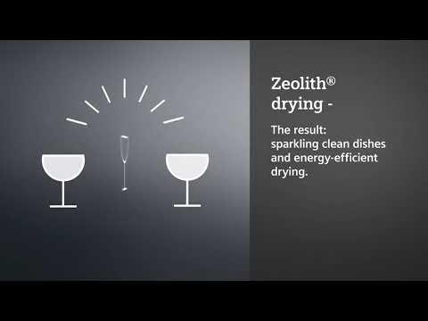 Siemens Freestanding 60 Cm Dishwasher SN25ZW49CE - White Video 3