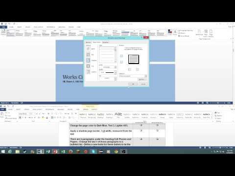 MOS: Microsoft Word 2013 Certification Review - YouTube