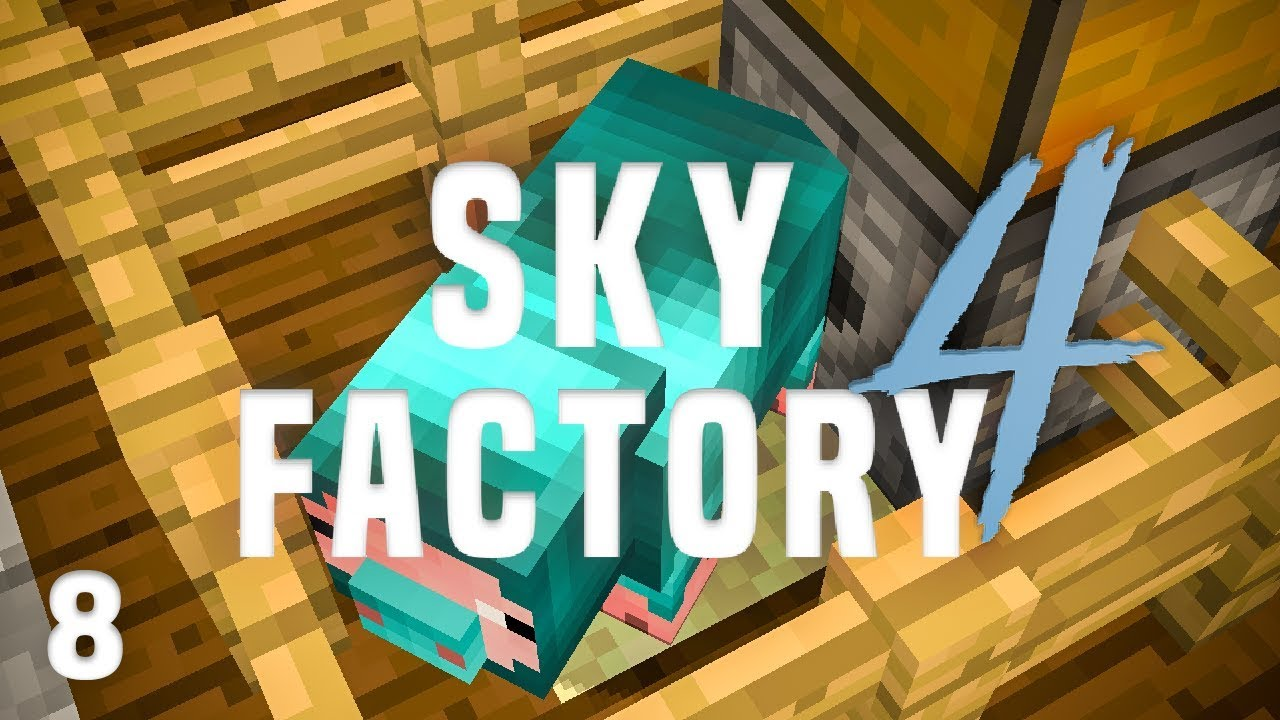 SkyFactory 4 Ep  8 Resource Hog Automation + 2nd Prestige Point