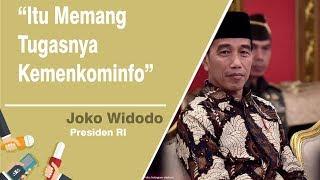 Jokowi Buka Suara Mengenai Iklan di Bioskop yang Tayangkan Keberhasilan Pemerintah
