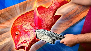CCOKING INCREDIBLE STREET FOOD FROM ALL OVER THE WORLD / HUGE FISH / BANANA CHIPS / ONION ROSE