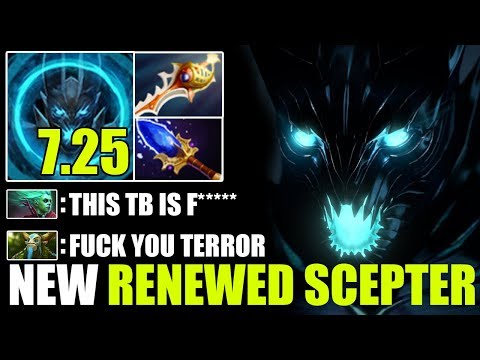 NEW RENEWED TERROR WAVE 7.25 Terrorblade Aghanim Scepter + Divine Rapier Gameplay by Miracle Dota 2