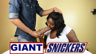 GIANT SNICKERS CHALLENGE!!